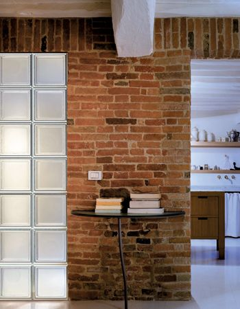 salotto07 | Interiors | Gallery Gallery | Seves glassblock