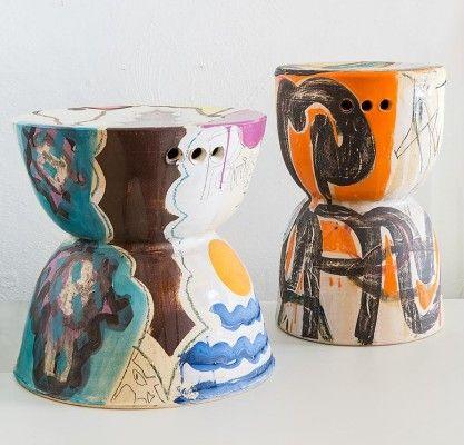 Ceramic Stool by Reinaldo Sanguino 3