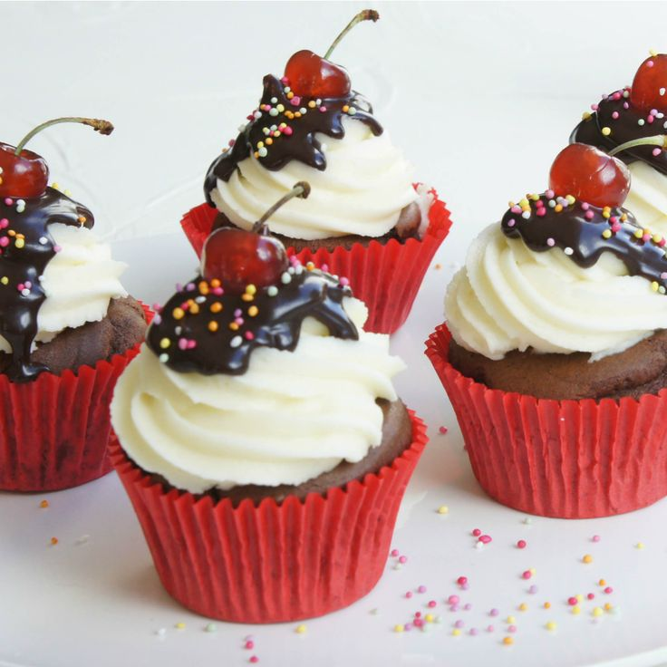 These Super Moist Chocolate Cupcakes by Backseat Cook are so delicious you'll be wanting more.