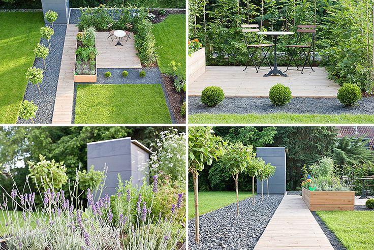 nicht schlecht gestaunt, was man aus einem Reihenhausgarten so - reihenhausgarten vorher nachher