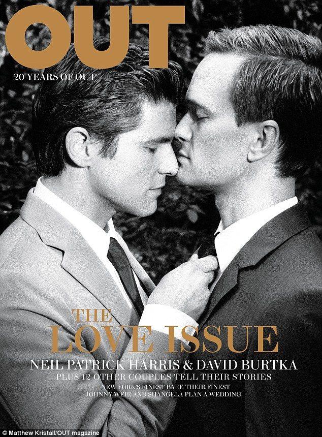 Neil Patrick Harris and David Burtka.    Gorgeous gentleman
