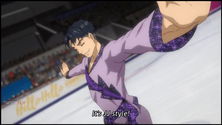 [SPOILERS] Yuri on Ice 8. Its JJ Style!