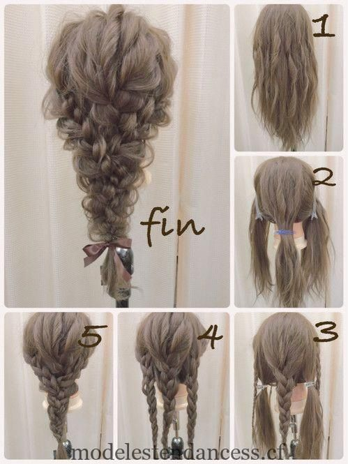 At wedding ceremonies and second party congresses, the hairstyle suffered at the time of the invitation … #ceremonies #thirsty #style #hair #wedding