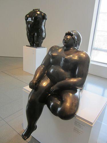 Fernando Botero 'Mujer sentada', (Seated Woman)