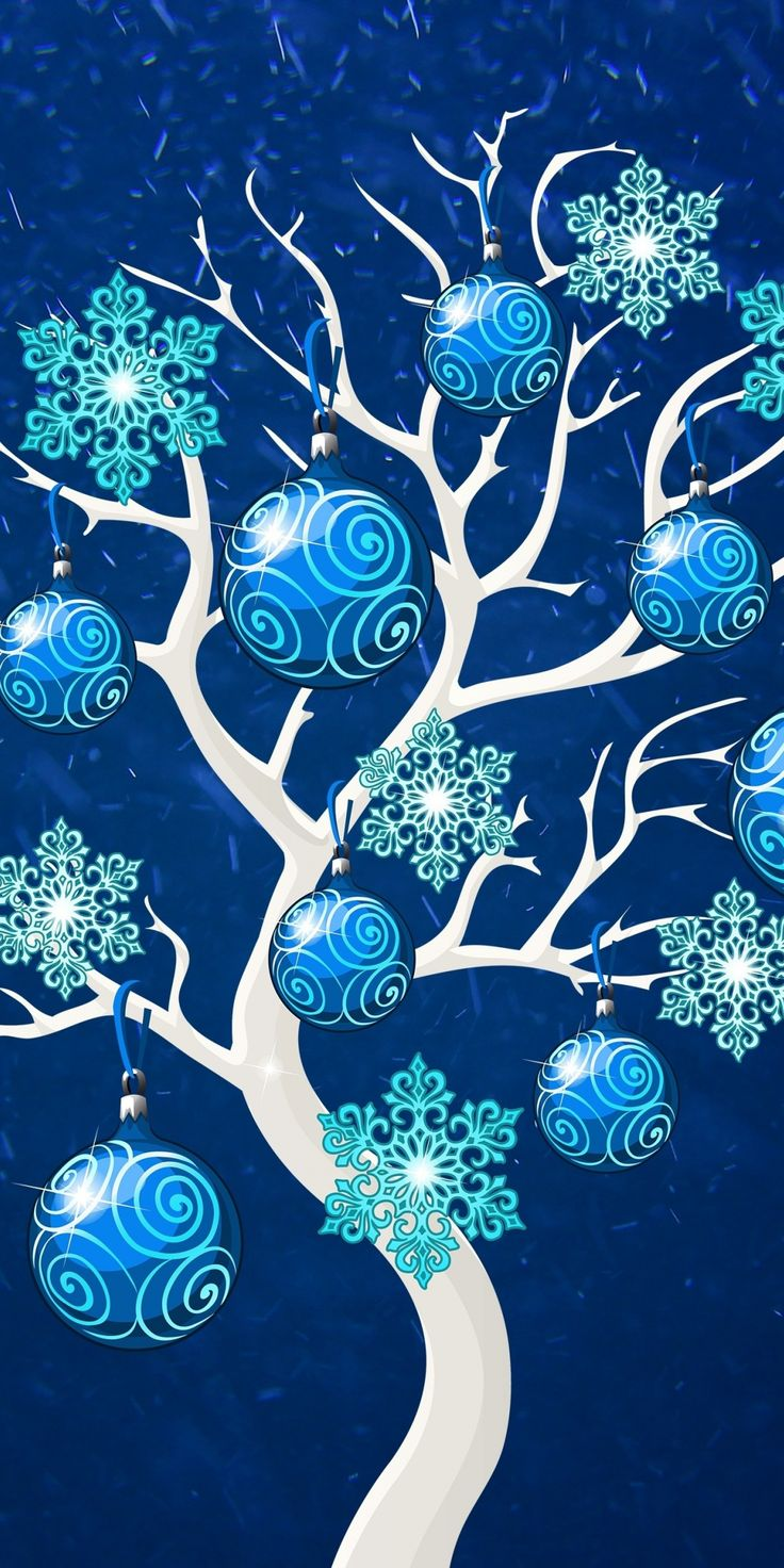 Christmas, decoration tree, 2019, 1080x2160 wallpaper