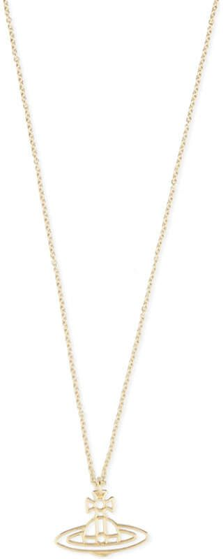 604bad4dc2a54a Vivienne Westwood Jewellery Thin lines flat orb pendant | G
