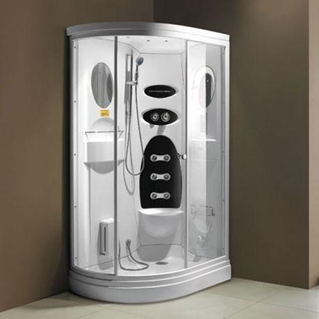 m s de 25 ideas incre bles sobre cabine de douche hammam. Black Bedroom Furniture Sets. Home Design Ideas