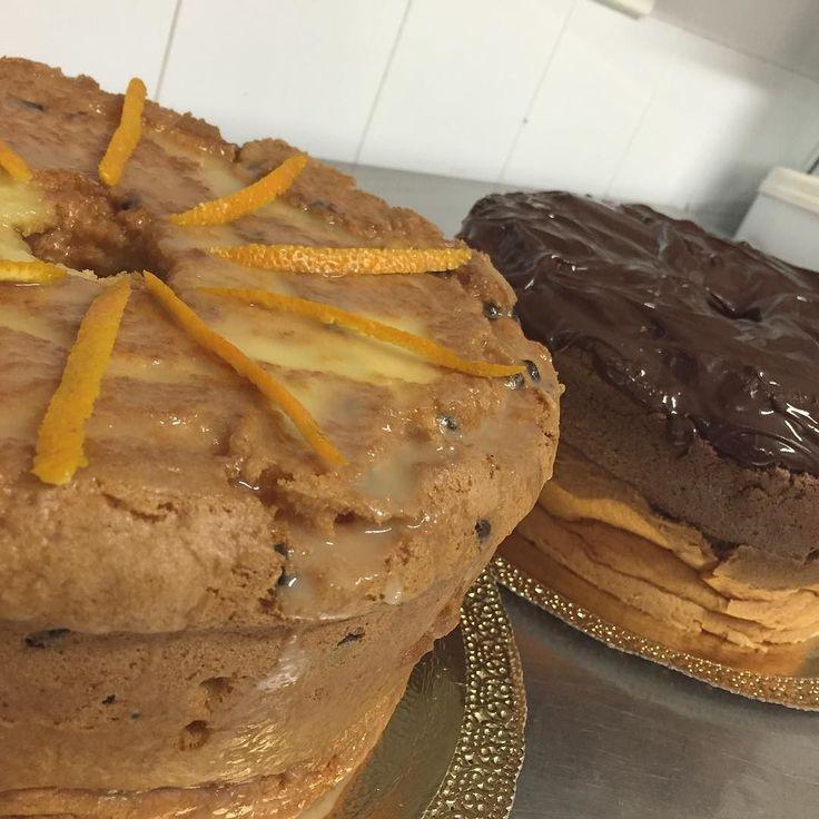 Buongiorno! Per cominciare alla grande questa splendida domenica... Fluffosa all'arancia o al cioccolato? #mybelsoggiorno #valdinon #trentino #valdinongolosa
