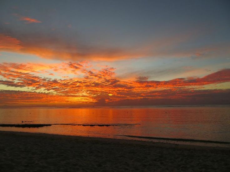 Memories of a sunset at Le Victoria, Mauritius by Myersjoeandlee