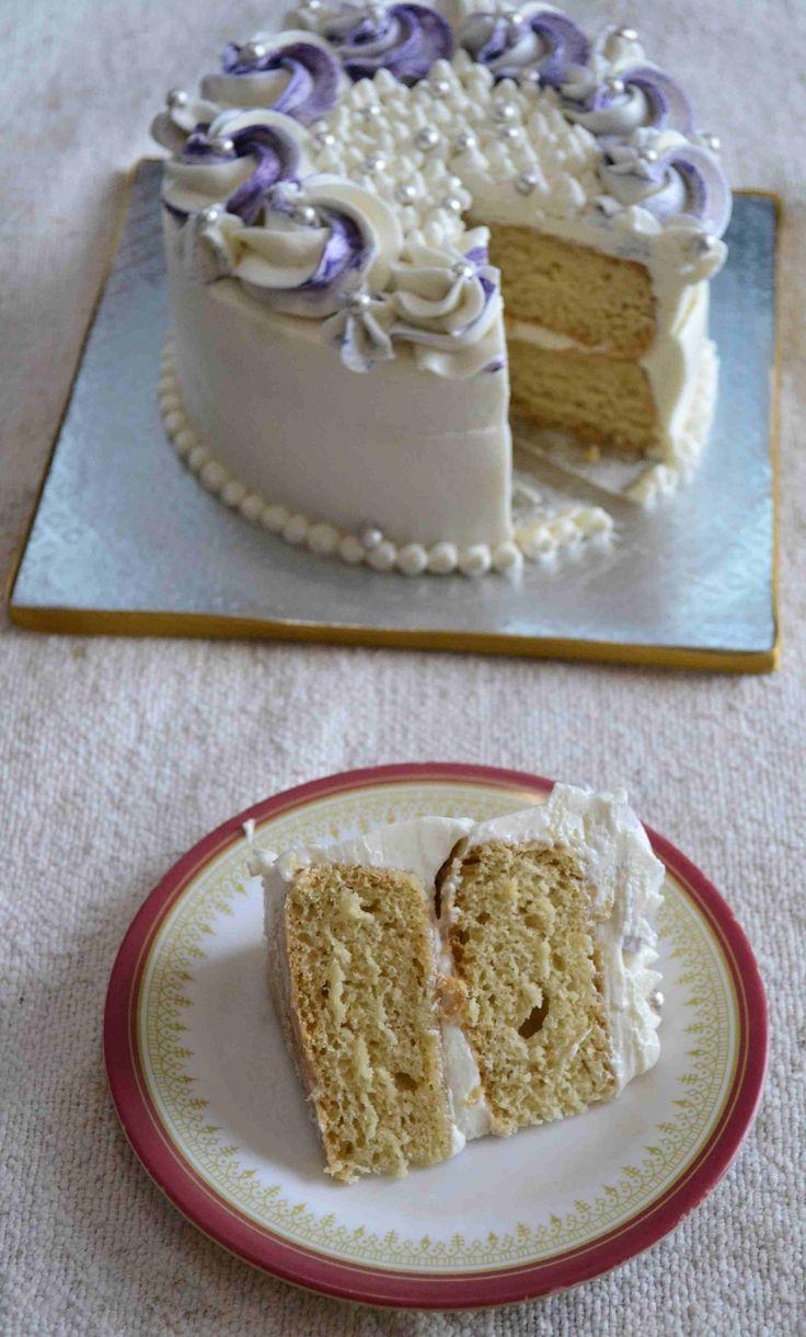 Vegan vanilla yogurt pound cake recipe