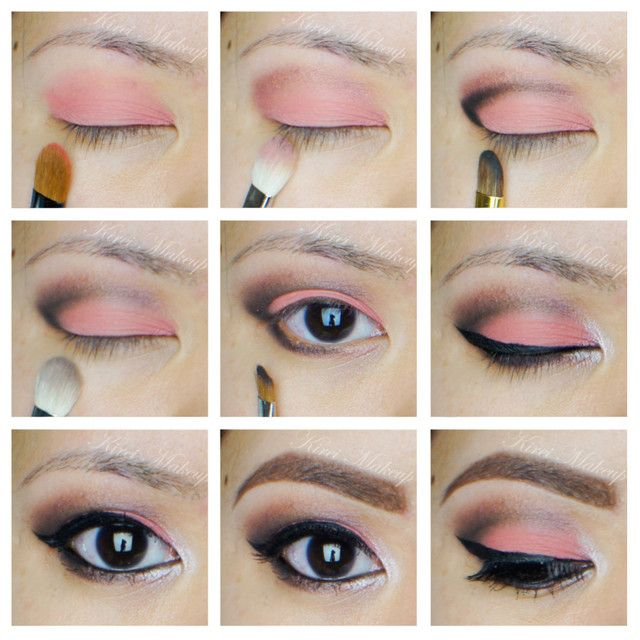 Coral Eyes with Sleek Makeup Showstoppers - Kirei Makeup