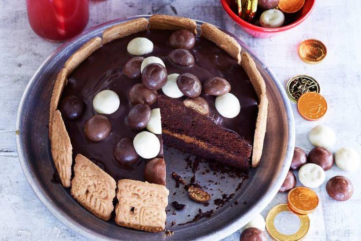 Chocoladetaart met pepernoten - Recept - Allerhande