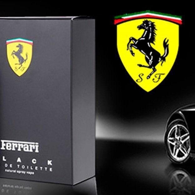 Perfume Importado Ferrari Black 125ml Para Homens