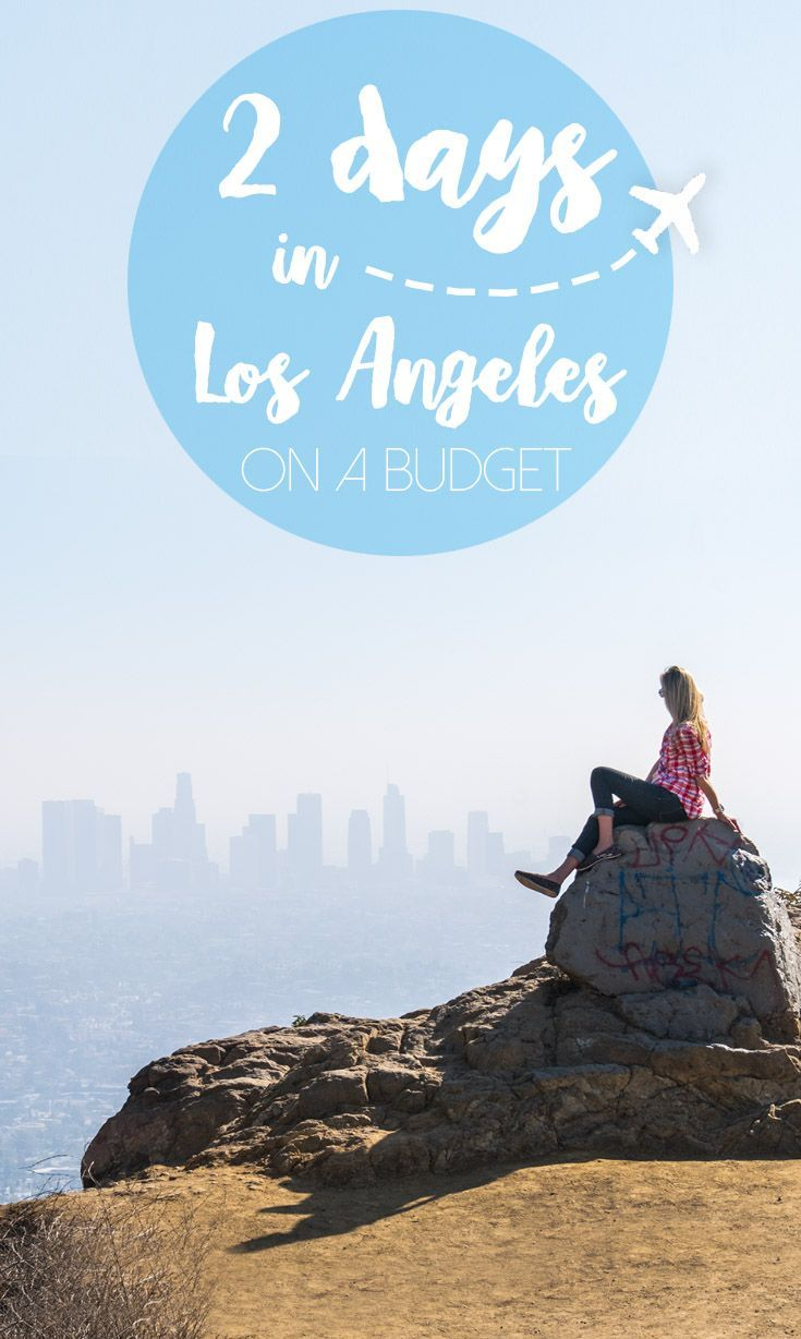 Heading to Los Angeles aka LA? Looking for the best things to do in LA and how to make the most out of 2 days in LA? We just spent a weekend in LA and put together a guide to 2 days in LA and we were even able to travel to LA on a budget. via @gettingstamped