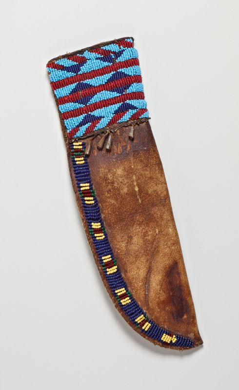Sioux knifecase, Cantor Mus. Stanford  ac