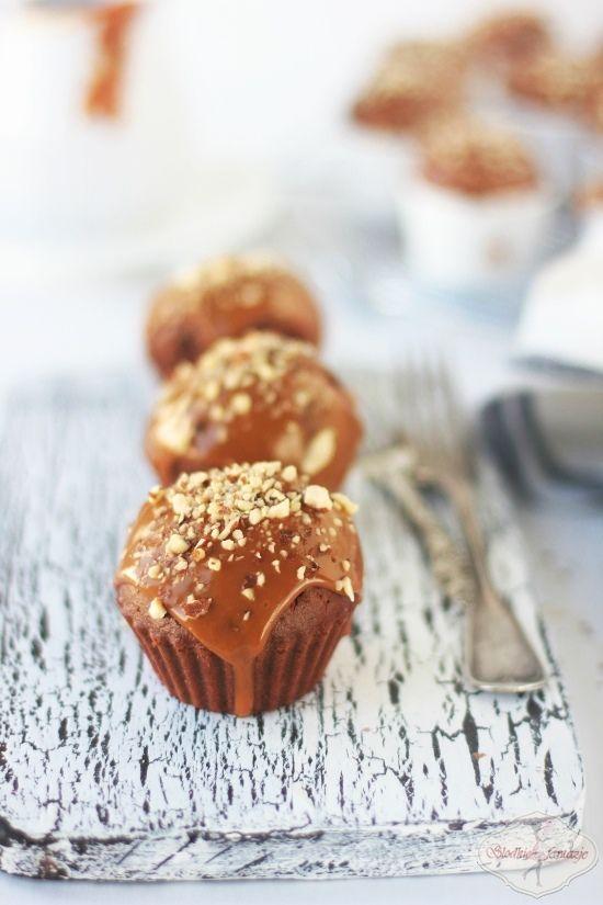 Muffinki kajmakowe / Dulce de Leche Muffins