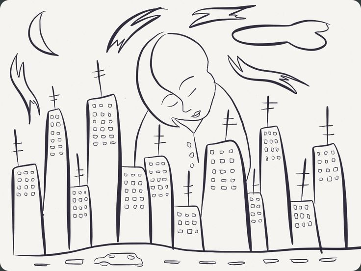 Watching the buildings grow