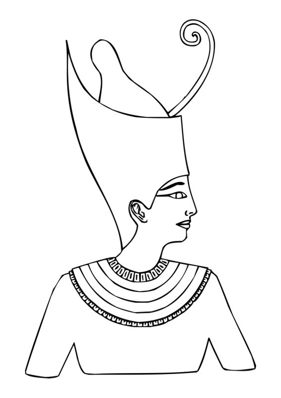 hat coloring pages ancient egypt - photo#8
