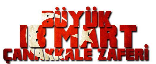 18 Mart Çanakkale Zaferi İçin Seçmece Bayrak ve Resimler 2015 Png