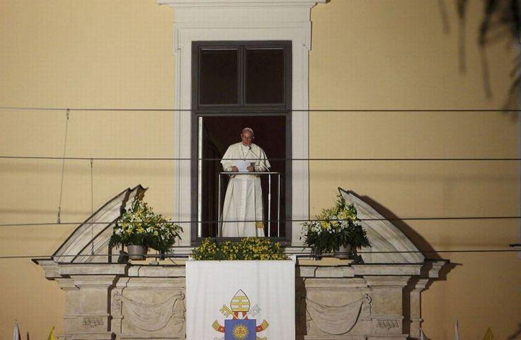 Papież Franciszek w Polsce. Najbardziej wzruszające  momenty wizyty Kraków 28.07.2016