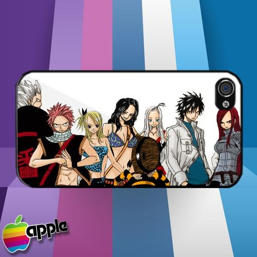 Fairy Tail Anime Manga iPhone 4 or iPhone 4S Case