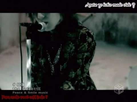 "The GazettE ""Guren"" - lol yes, Ruki licks the mic at the end lol"