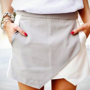 This skirt is amazing with its angles! The Boutique Hub loves it!