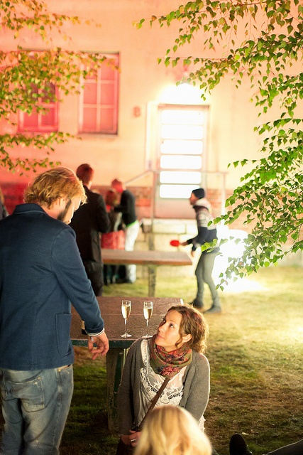 Champagne & table tennis by Maija Astikainen, Flow Festival 2012, via Flickr