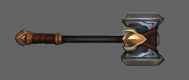 El arsenal: la forja del martillo de Poppy | League of Legends