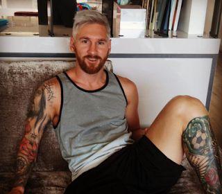Geger !!! Gaya Rambut Messi Mirip Si Anuh - Madura Gue