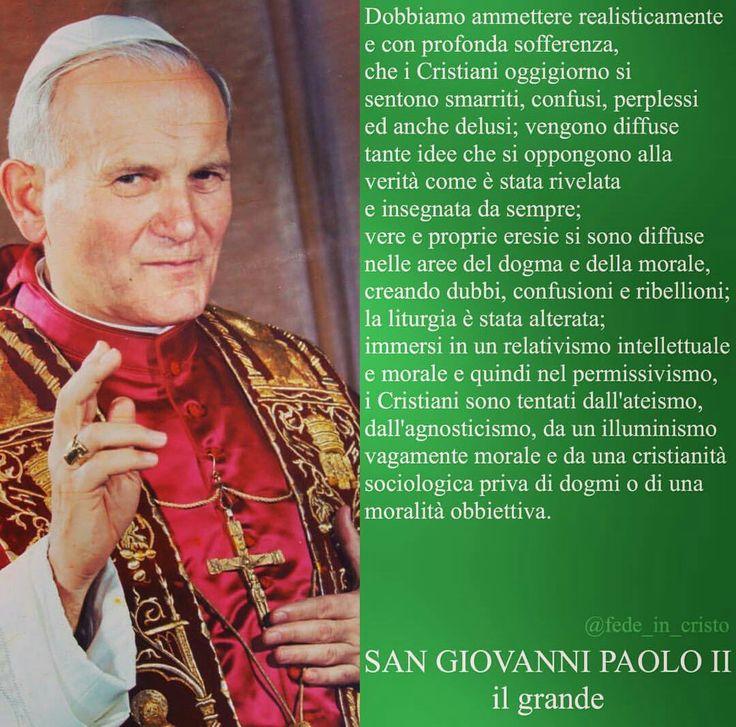 #GIOVANNIPAOLOII #Papa #SanGiovanniPaoloII