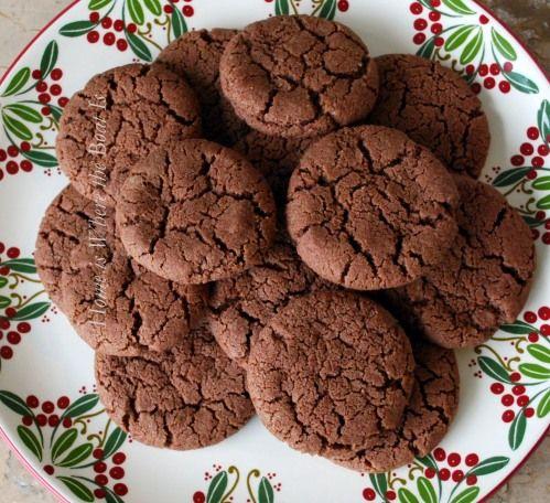 Nigella's chocolate shortbread cookies