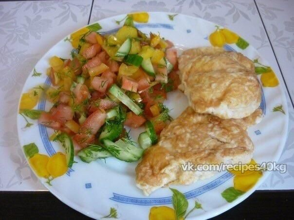 Сочнейшая куриная грудка в сыре и яйце. vk.com/wall-35113021_266664