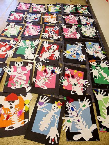 Free Day Of The Dead Art Projects For Kids