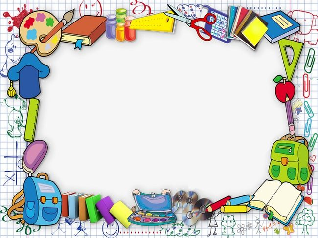 Frame Frame Clipart School Season Stationery Png Transparent