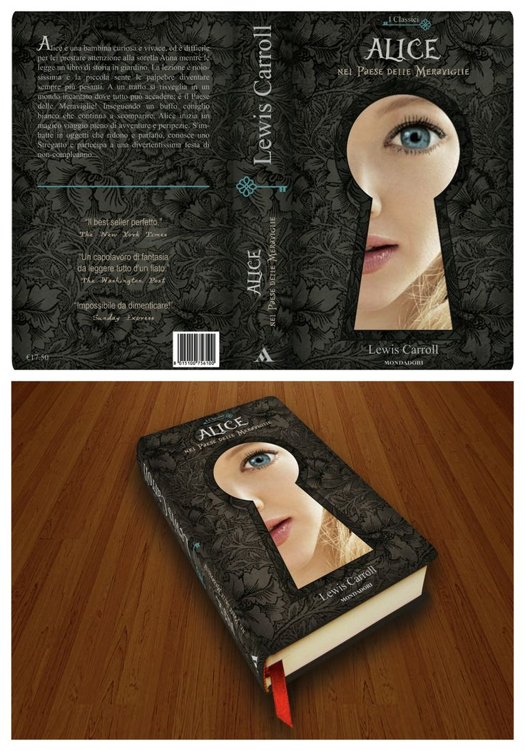 Alice in Wonderland - Book Cover Design