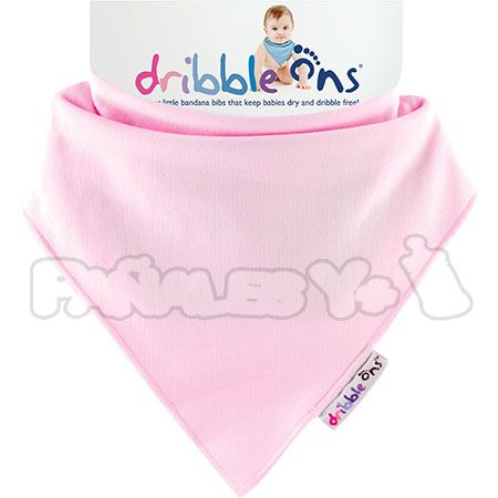 #DribbleOns Rosa #quitababas #bebe #babero http://www.panalesymas.com/baberos/babero-dribble-ons.html