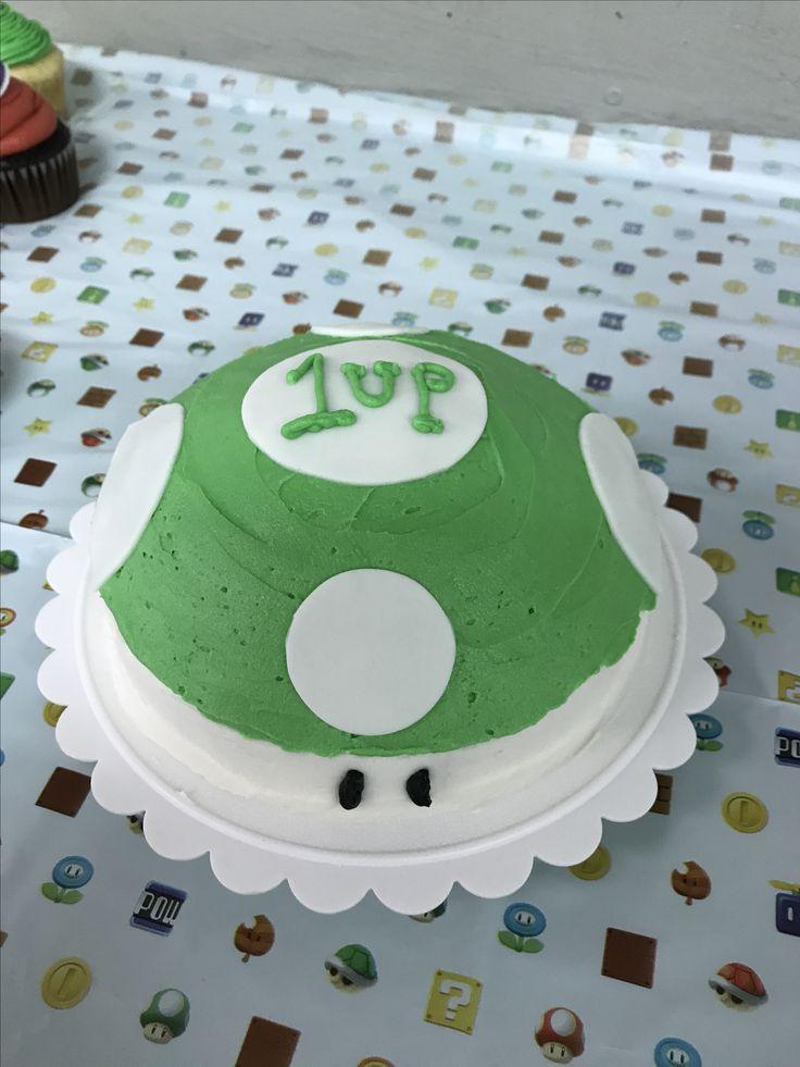 1up cake/ Leon's bday
