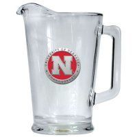 Nebraska Huskers Beer Pitcher