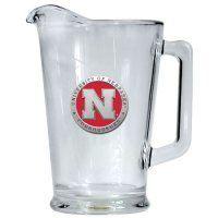 Nebraska Huskers Beer Pitcher