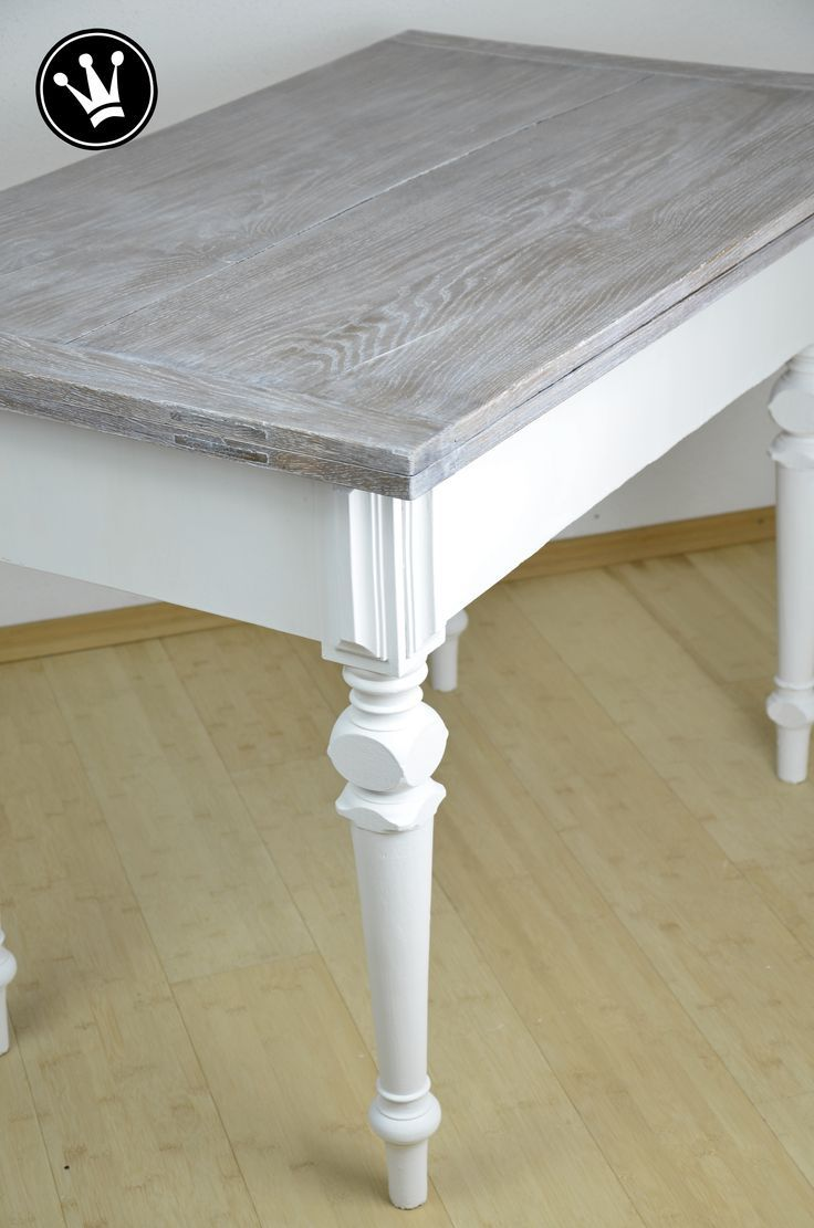 diy paint table with chalk paint table top with white wash method rh pinterest com