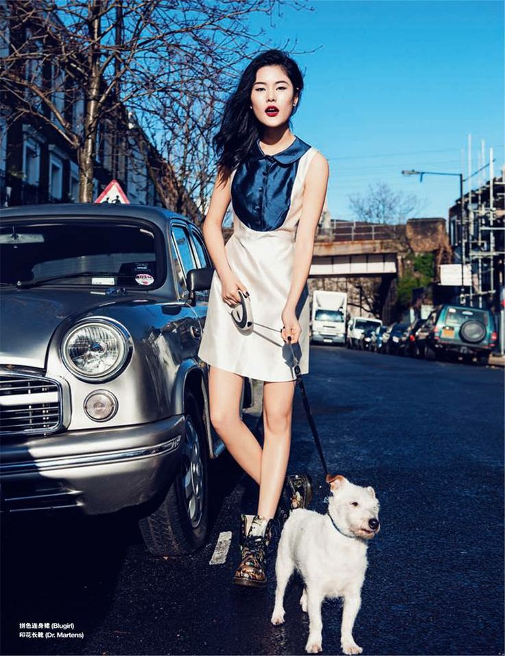 Best Editorials - Blugirl Spring Summer 2014 • GRAZIA, China - April 23, 2014