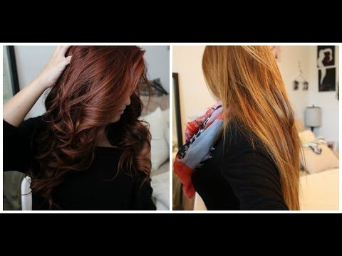 From Red to Light Brown/Blonde WITHOUT bleach! Color Oops step-by-step| - YouTube