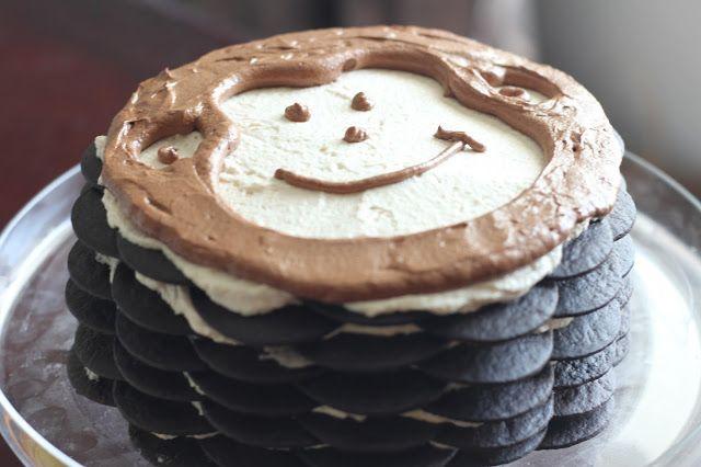 Peanut Butter and Chocolate Icebox Cake | Birthday Ideas | Pinterest