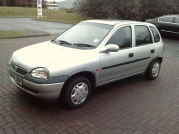 Moved on to a brand new 1998 Vauxhall Corsa