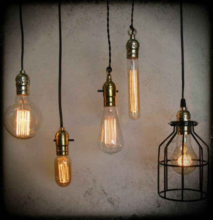 Indirekte Beleuchtung Decke Dunkeles Interior Wandgestaltung Leuchten