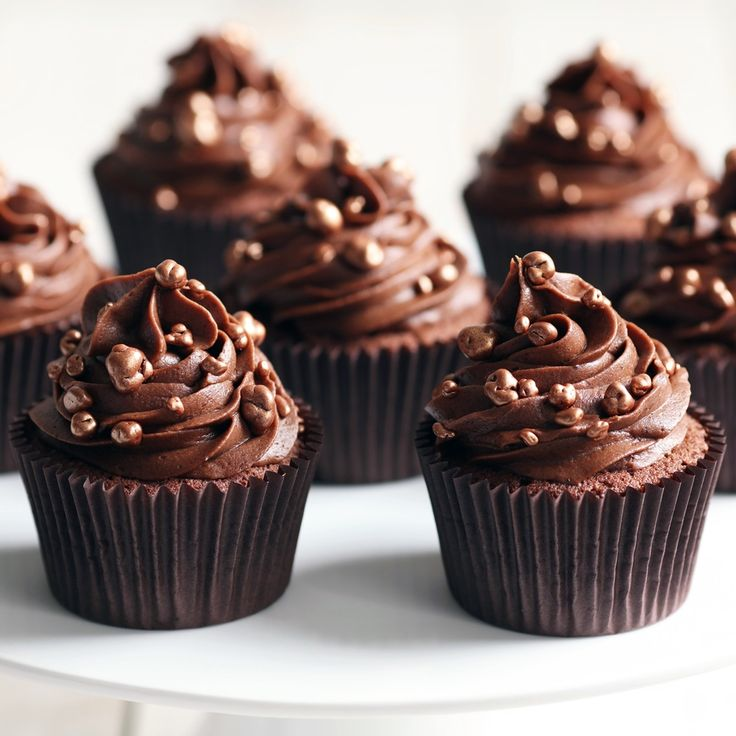 This Mary Berry chocolate cupcake recipe is pure chocolate indulgence. Children will love to decorate with chocolate strands and chocolate decorations.