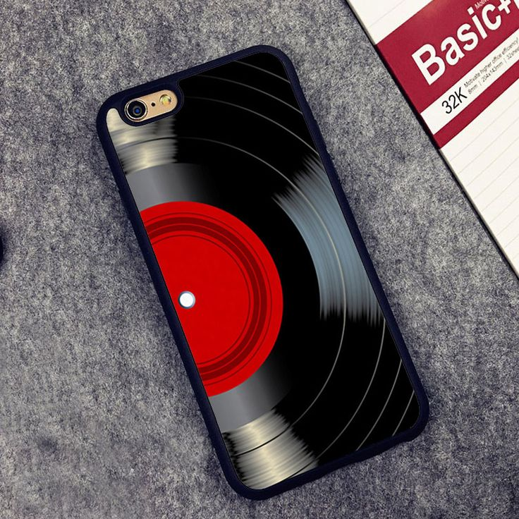 >> Click to Buy << Vinyl Record Music Classic Vintage Style Soft Rubber Back Case Cover For iPhone 6 6S Plus 7 7 Plus 5 5S 5C SE 4 Mobile phone bag #Affiliate
