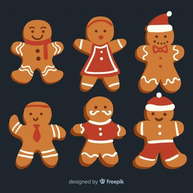Coleccion Navidad Galletas Pan De Jengibre Santa Claus Decoracion De Galletas Navidenas Galletas De Jengibre Navidad Galletas