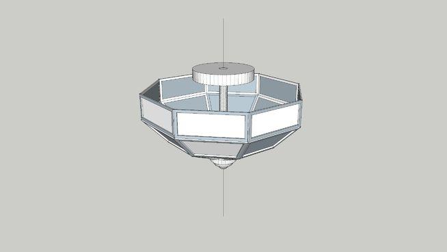 Large preview of 3D Model of Plafon ART DECO
